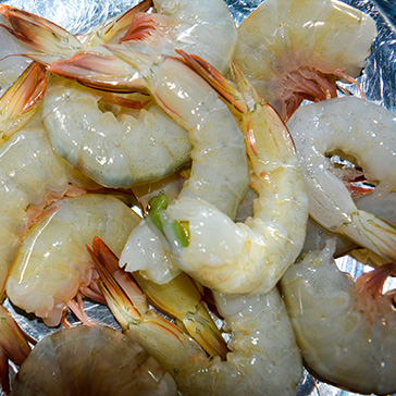 PRAWNS CLEAN TAIL ON (FRESH & FROZEN)